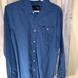 NWT Hurley Button-down shirt
